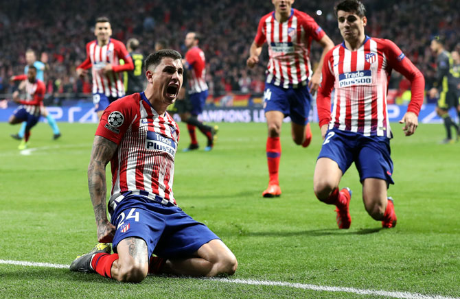 Rediff Sports - Cricket, Indian hockey, Tennis, Football, Chess, Golf - How Atletico outsmarted shell-shocked Juventus