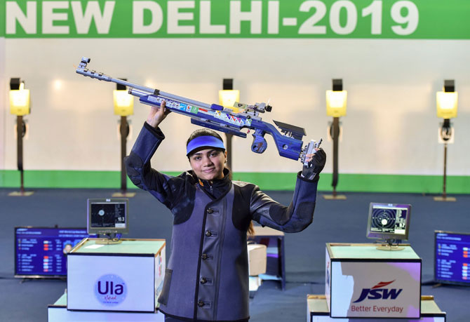 Sports Shorts: Apurvi wins 10m Air Rifle WC gold