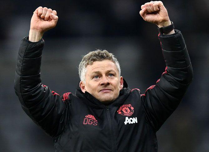 Manchester United's interim manager Ole Gunnar Solskjaer