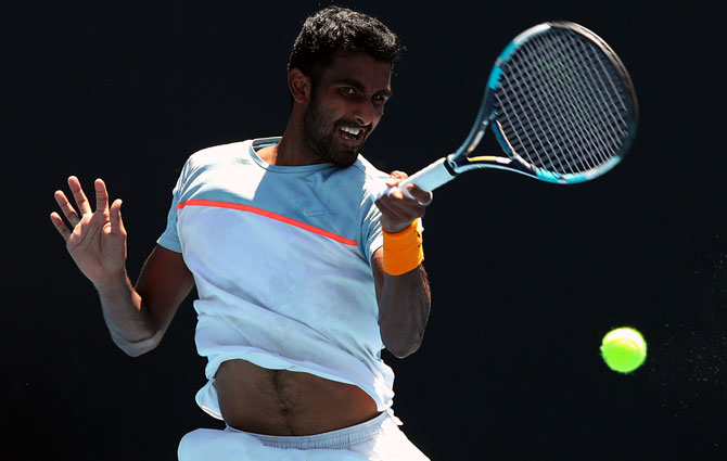 Rediff Sports - Cricket, Indian hockey, Tennis, Football, Chess, Golf - Tennis Rankings: Do you know India's best ranked player in singles?