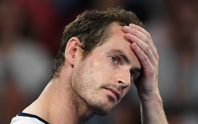 Andy Murray had lost in the first round at the Australian Open last year before undergoing a hip surgery