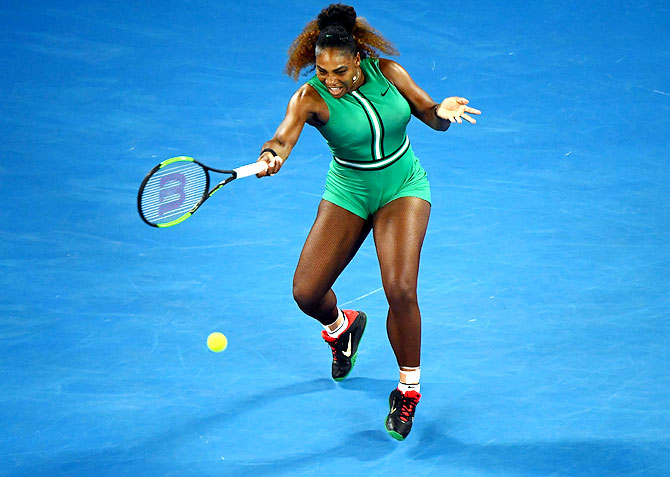 Rediff Sports - Cricket, Indian hockey, Tennis, Football, Chess, Golf - 1 precious lesson from Serena's life!