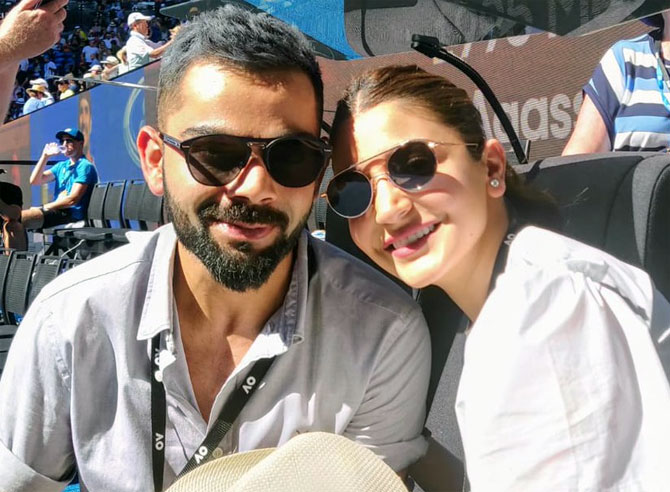 Kohli talks about Anushka's impact on his life
