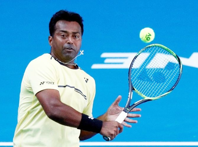 Veteran Leander Paes is set to represent India in the doubles tie
