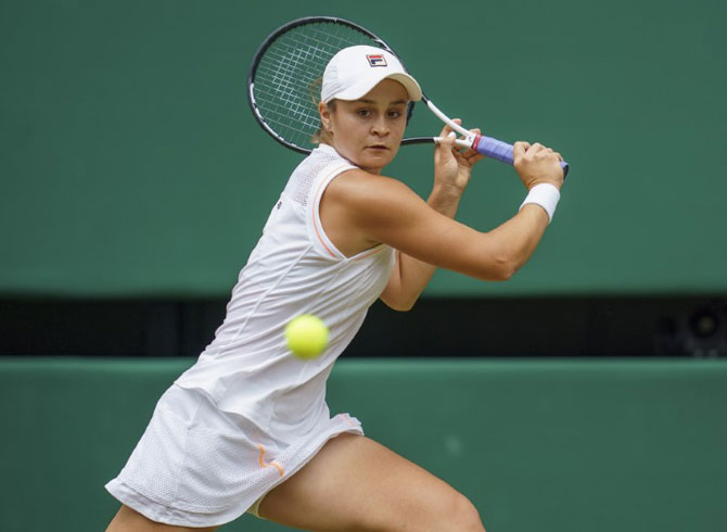 Ashleigh Barty has been a warrior on court and a diplomat off it in week 1 at Wimbledon
