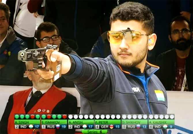 Shooter Anish continues India's golden run