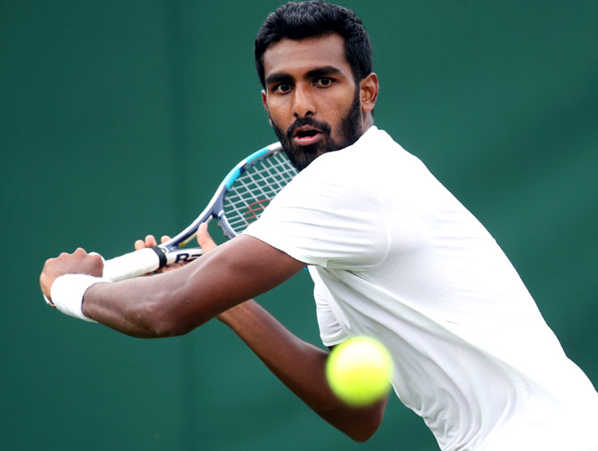 India's Prajnesh Gunneshwaran made the made draw of the Australian Open after qualifying as a lucky loser