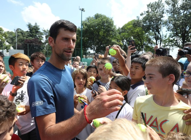No grass courts? No problem, says Djokovic