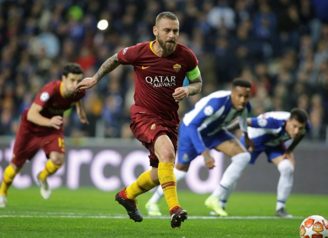 World Cup winner Daniel De Rossi, behind only Francesco Totti (786) in appearances for Roma, had rejected a director's role at the Italian club last season after his contract was not renewed