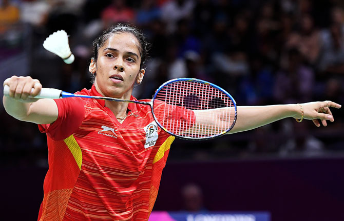 Badminton: Saina out after testing COVID positive