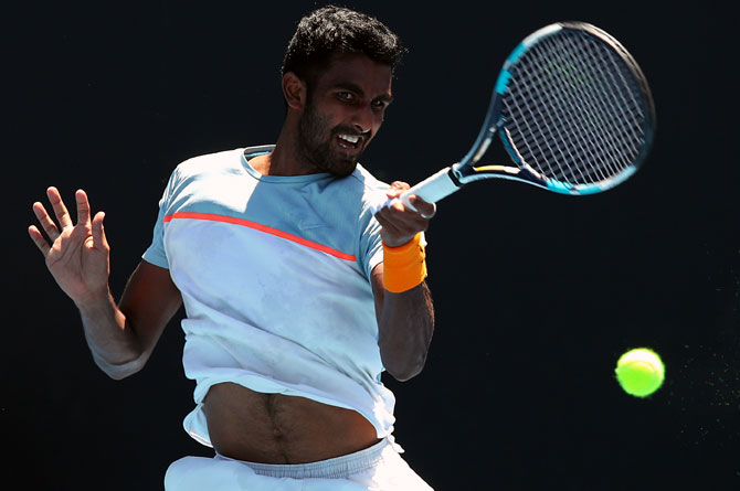 Prajnesh enters Aus Open main draw, may run into Djoko