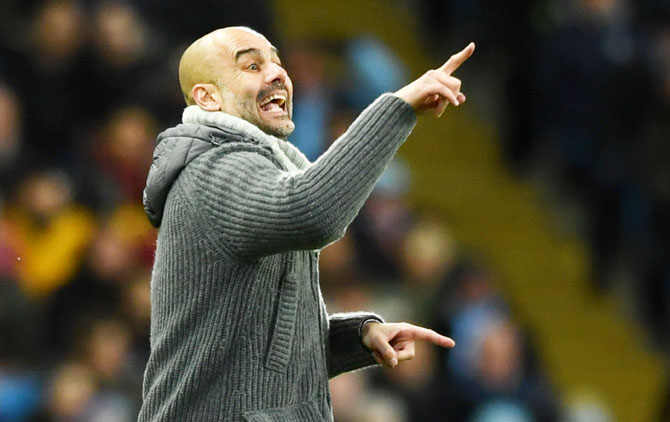 Commenting on Wednesday's Champions League match between Bayern Munich and Liverpool, Manchester City coach Pep Guardiola said at the post-match press conference: 'I'm sorry for the English people but I want Bayern to go through'