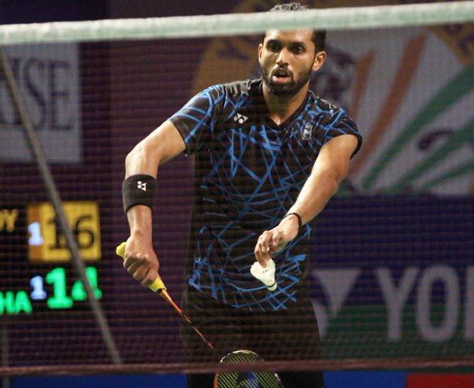Prannoy withdraws from All England badminton