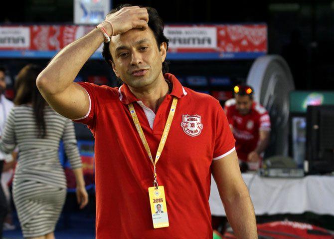 Kings XI Punjab co-owner Ness Wadia