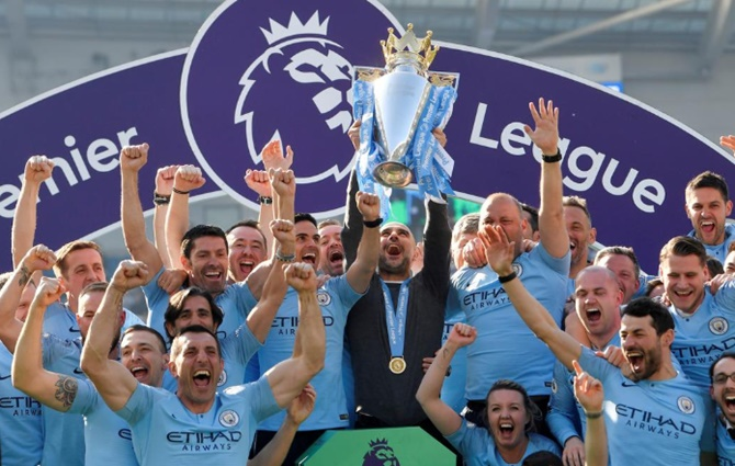 Pep Guardiola's men won an unprecedented domestic treble last season, while the women's team won the FA Cup and the Women's Super League