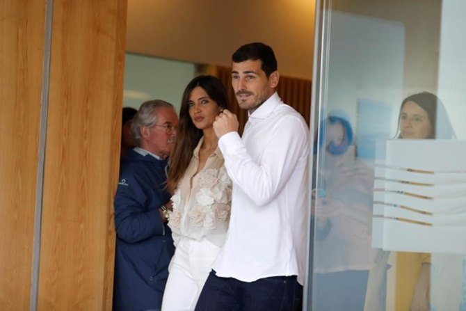 After Casillas attack, wife says she has had cancer op