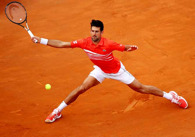 Djokovic has a mountain to climb at French Open