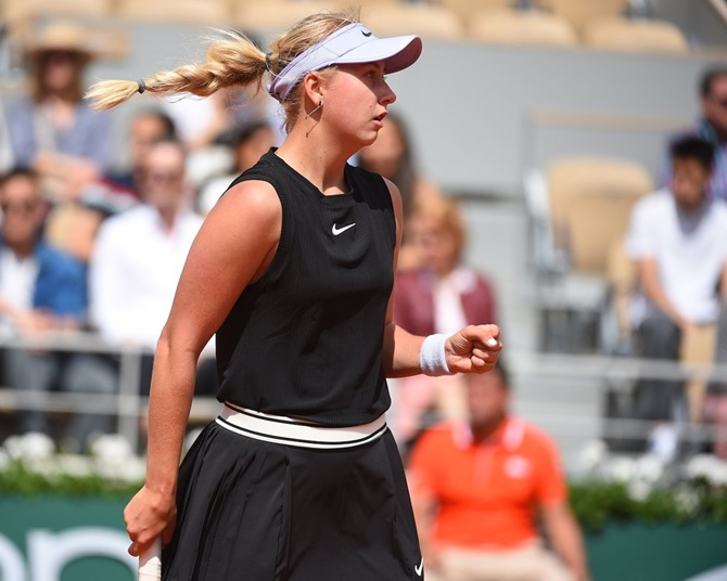 French Open: Potapova upsets Kerber in first round