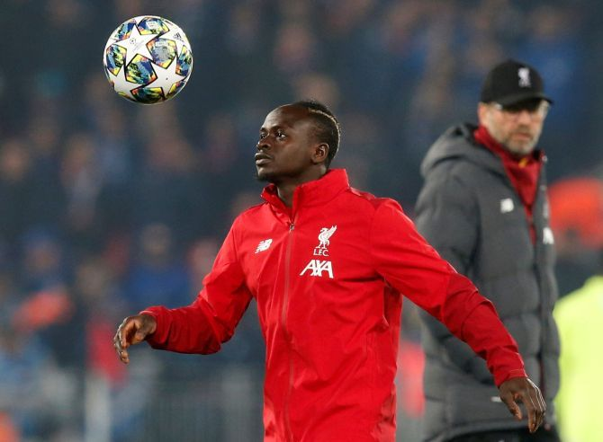 Leaders Liverpool host champions Manchester City in a Premier League showdown on Sunday and Sadio Mane said the timing of Pep Guardiola's accusation was no coincidence