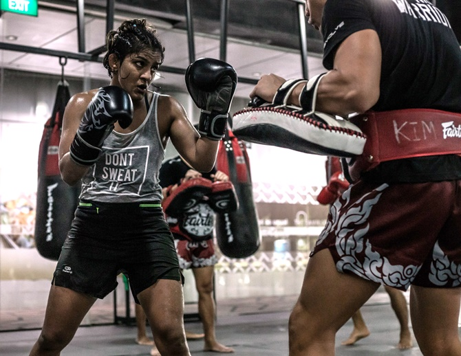 Ritu Phogat ready for tilt at MMA world title