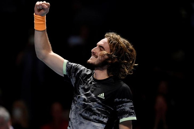 Tsitsipas thrashes Zverev to reach ATP semis