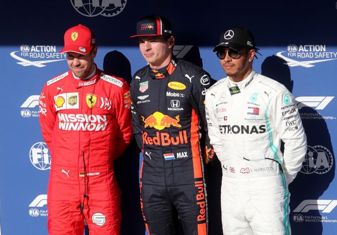 Verstappen takes pole at Brazilian Grand Prix