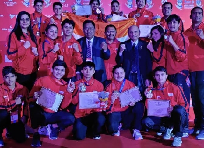 Sports Shorts: India's women clinch five gold