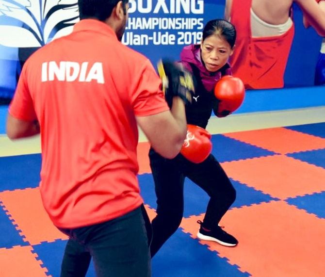 Boxing set to resume; men women to have joint camp