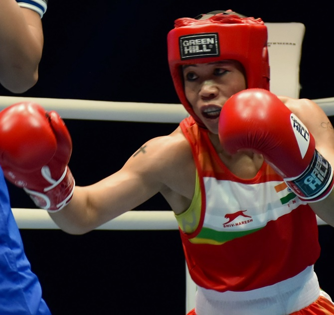 Mary Kom silences Nikhat Zareen in high-voltage trial