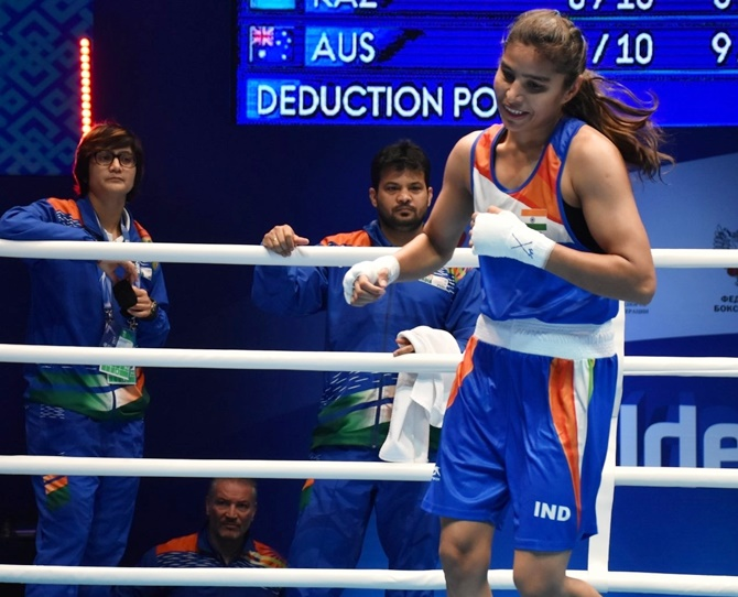 Manju Rani claimed individual glory at the women's World Championship, entering the final and signing off with a silver medal
