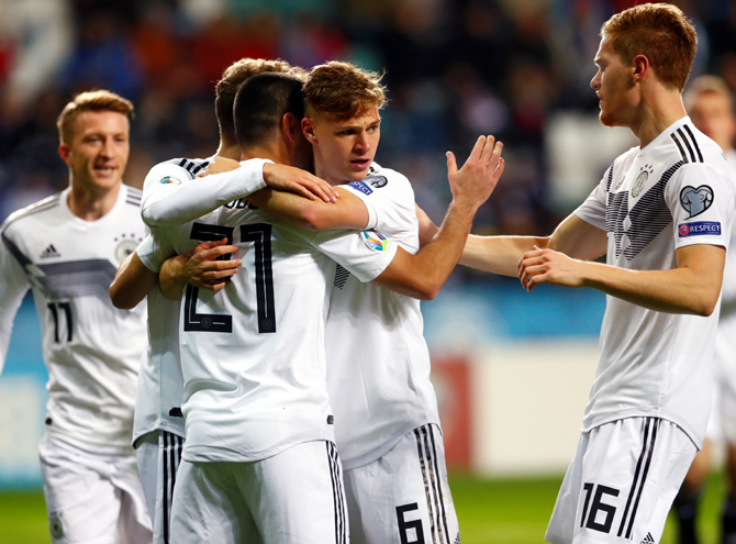 PHOTOS: Germany, Netherlands win; Wales hold Croatia
