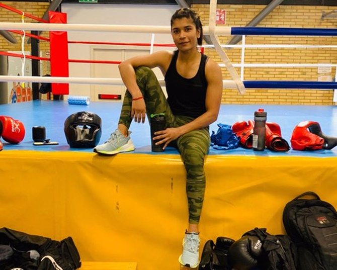 Nikhat selected for boxing trials of Olympic qualifiers