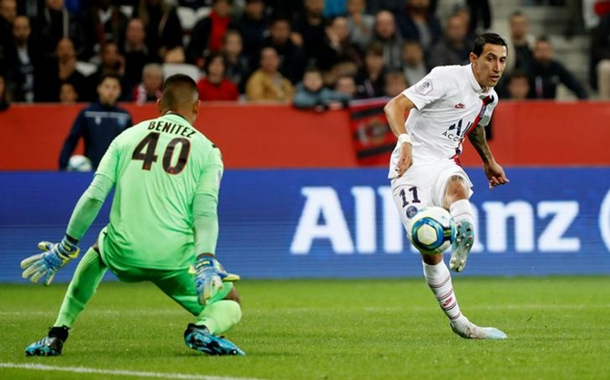 Football Extras: Di Maria sends PSG five points clear