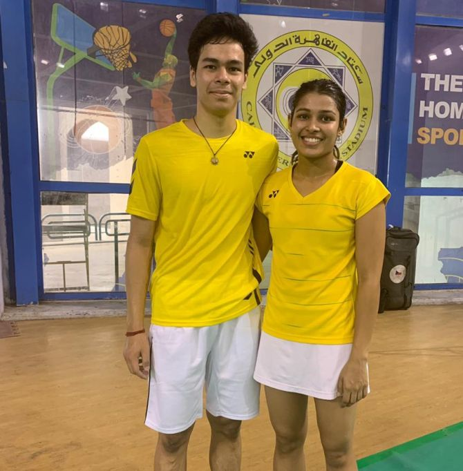 Shorts: Kuhoo-Dhruv win Egypt International title