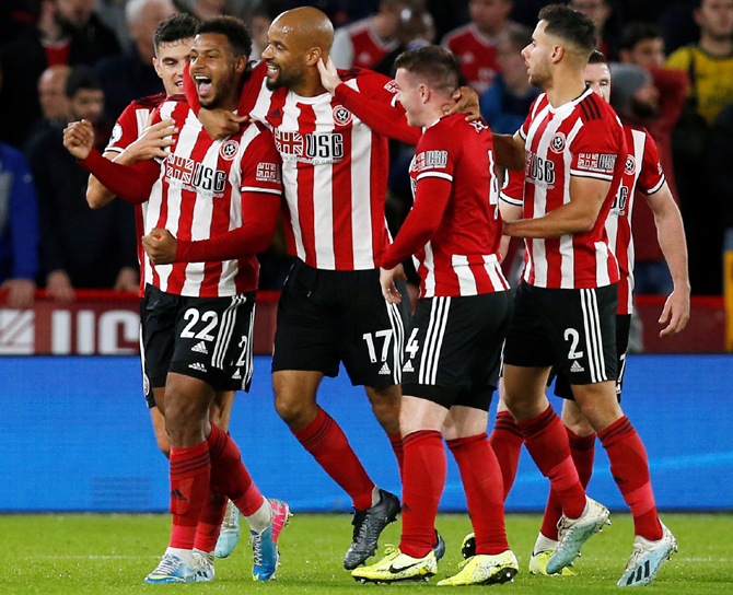 EPL PIX: Sheffield United end Arsenal's unbeaten run
