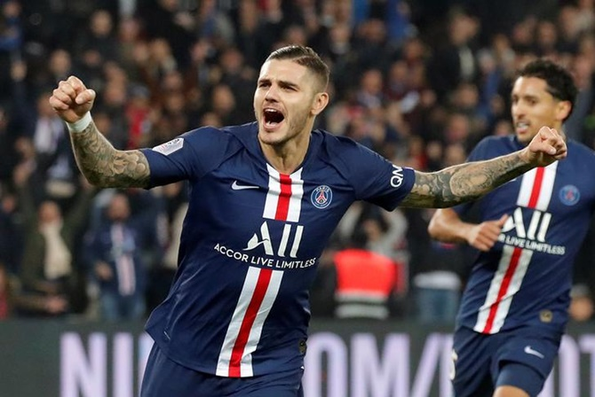 Mauro Icardi scored 20 goals in 31 matches in all competitions before the season was officially concluded on April 30 with 10 games remaining due to the COVID-19 crisis.
