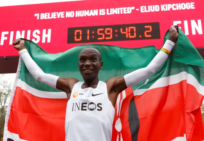 Is he the greatest Marathoner of all time?