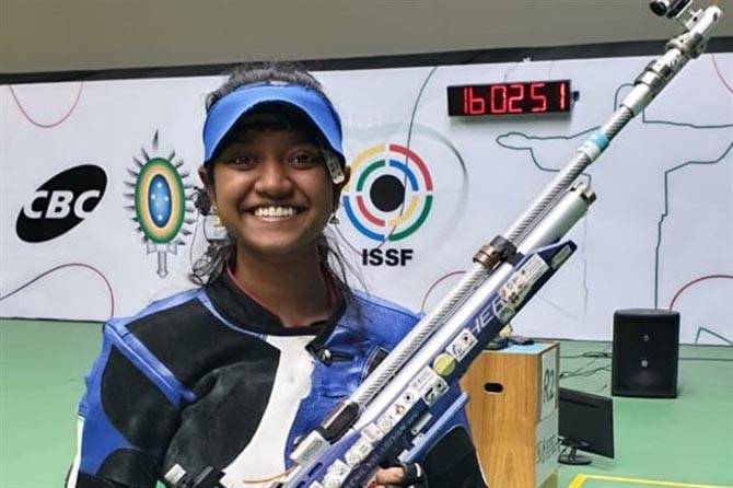 Shooting: Elavenil, Anish in core group for Olympics