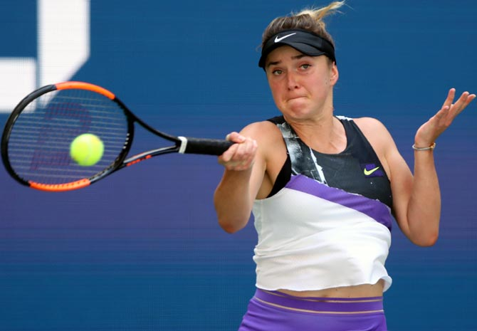 Ukraine's Elina Svitolina is expected to give Serena a big fight