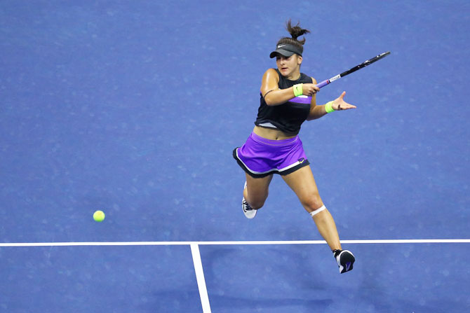 It's a dream come true playing against Serena in the final of the US Open, said Andreescu