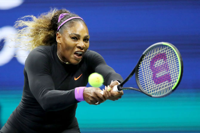 Serena Williams took 70 minutes to dismantle Elina Svitolina