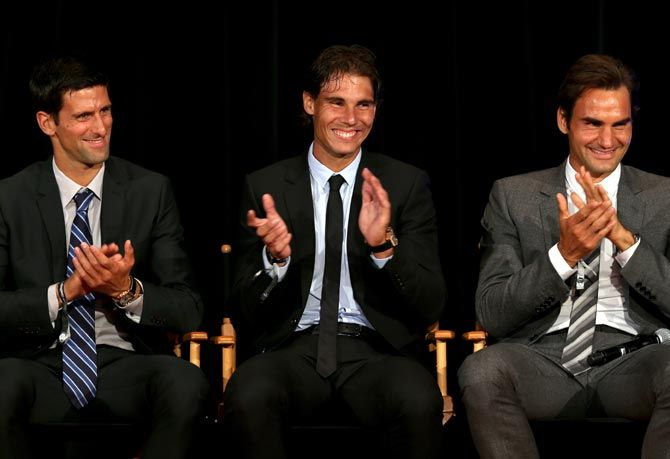 Novak Djokovic, Rafael Nadal and Roger Federer are part of the 30 players who will be part of the inaugural ATP Cup