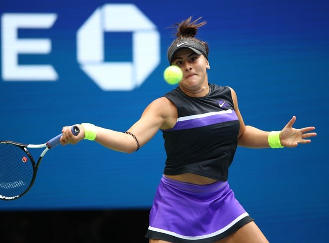 Her place alongside Canadian sporting greats is already secured and while not even the most optimistic of Canadian tennis fans could have predicted this a year ago Andreescu has been playing the scenario out for a while