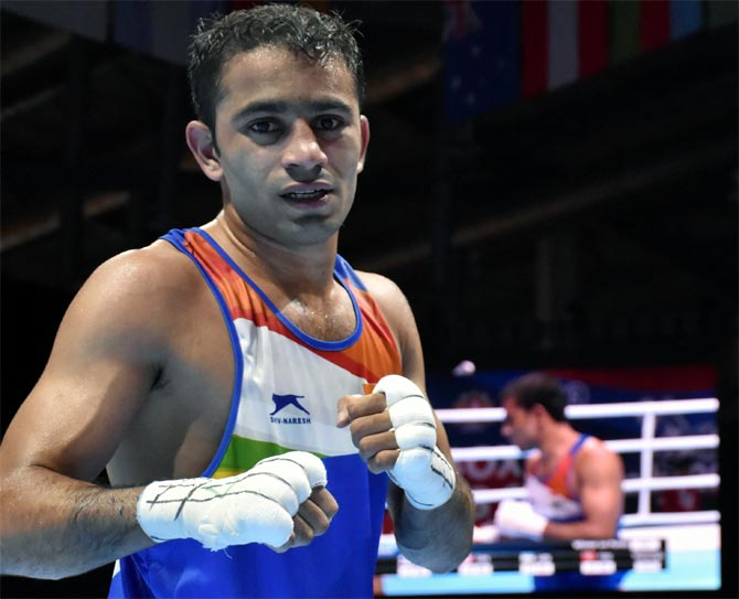 Boxing Worlds: Panghal enters semis; assured of medal