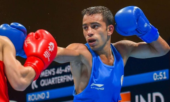 Silver worth its weight in gold: Amit ends 2nd at Worlds