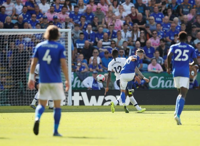 EPL: Maddison fires Leicester to win over Spurs