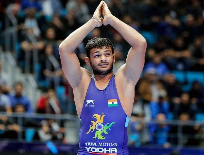 Wrestler Deepak Punia