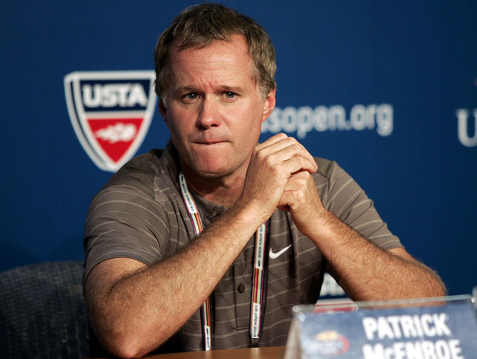 Patrick McEnroe fine after mild case of coronavirus