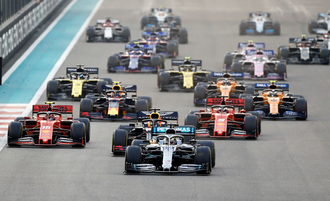 Formula One furloughs staff as bosses take pay cuts