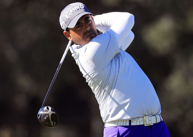Golfer Lahiri using lockdown to reset his game